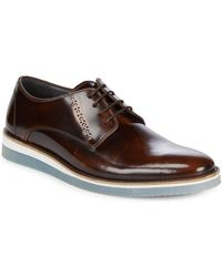 Steve Madden - Patent Leather Derby Shoes - Lyst