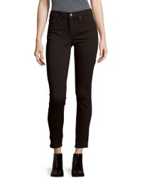 Jean Shop - Solid Five-pocket Jeans - Lyst