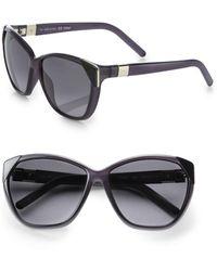 Chloé Capucine Tip Cat Eye Sunglasses - Multicolor