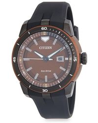 Citizen - Aw1476-18x 47mm Stainless Steel Watch?? - Lyst