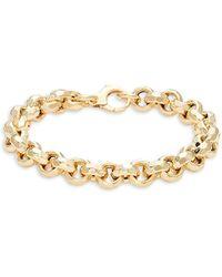 Saks Fifth Avenue - 14k Yellow Gold Bracelet - Lyst