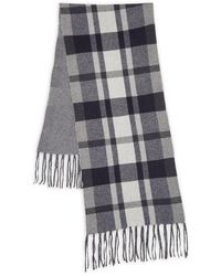 Saks Fifth Avenue Wool & Cashmere Scarf - Grey