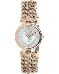 Versus Berlin Stainless Steel Chain Link Bracelet Watch - Metallic