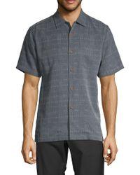 Tommy Bahama - Textured Silk Sportshirt - Lyst