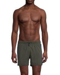 Bogner Men's Emmet Swim Shorts - Khaki - Size 34 - Multicolour