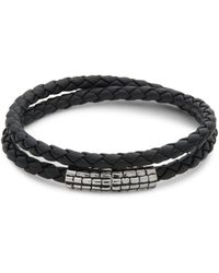 Effy Sterling Silver And Leather Bracelet - Metallic