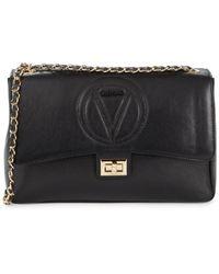 Valentino By Mario Valentino Women's Posh Leather Crossbody Bag - Black