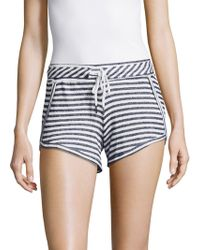 Betsey Johnson - Scalloped Shorts - Lyst