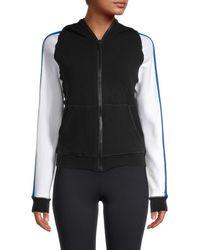 Alala Women's Talus Colorblock Track Jacket - Black Multi - Size S