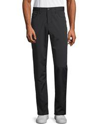 Perry Ellis Slim-fit Stretch Trousers - Blue