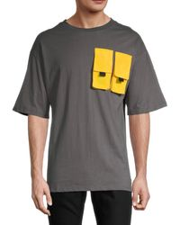 American Stitch Pocket Short-sleeve T-shirt - White
