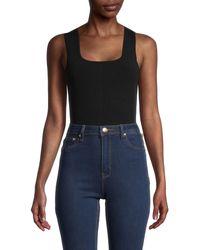 The Row Elian Bodysuit - Black
