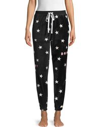 DKNY Star-print Pyjama Pants - Black