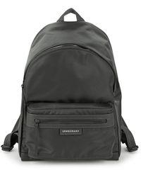 Longchamp Le Pliage Neo Nylon Backpack - Grey