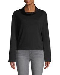 X By Gottex - Cowlneck Bell-sleeve Top - Lyst