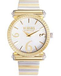 Versus Women's Two-tone Stainless Steel Bracelet Watch - White