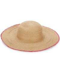 Ava & Aiden Frayed Sun Hat - Natural