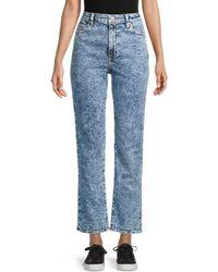 Jonathan Simkhai River High Rise Straight-leg Jeans - Blue