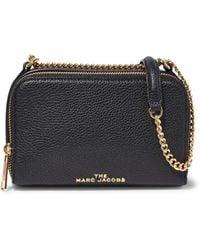Marc Jacobs Women's Leather Crossbody Bag - Black