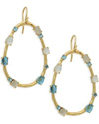 Ippolita 18k Yellow Gold & Multi-stone Drop Earrings - Multicolour