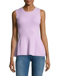 Narciso Rodriguez - Felted Sleeveless Top - Lyst