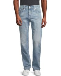 True Religion Men's Ricky Flap-pocket Jeans - Light Denim - Size 40 - Blue