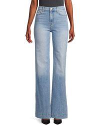 7 For All Mankind Modern Dojo High-rise Flare Jeans - Blue