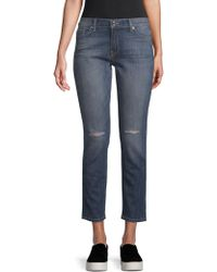 Genetic Denim - Shane Faux Front Skinny Jeans - Lyst
