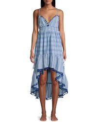 Tessora Nina High-low Dress - Blue
