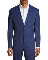 Bonobos Marzotto Jetsetter Wool Suit Jacket - Blue