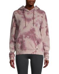 Marc New York Tie-dye Hoodie - Pink