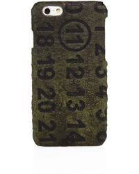 Maison Margiela - Military Leather Iphone Case - Lyst