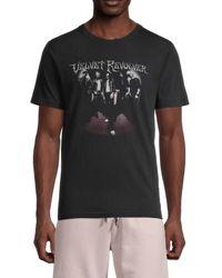 ELEVEN PARIS Santa Barbara Vintage T-shirt - Black