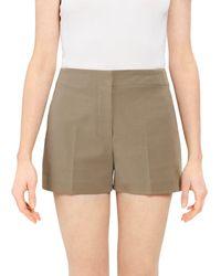 Theory Mini Shorts - Green