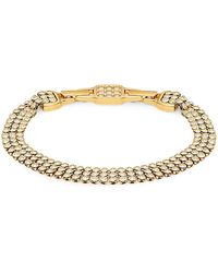 Swarovski Goldtone Crystal Bracelet - Multicolour