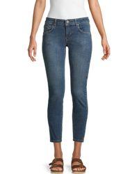 One Teaspoon Freebirds Ii Low-rise Skinny Jeans - Blue