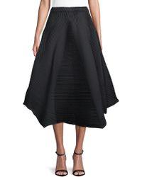 Issey Miyake - Polygon A-line Skirt - Lyst