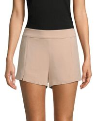 Ramy Brook - Adele Stretch Crepe Shorts - Lyst