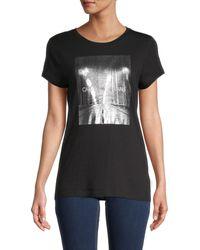 Ck Jeans Logo Graphic T-shirt - Black