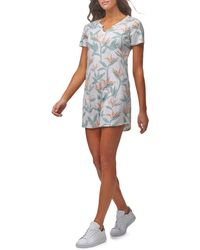 Marc New York Women's Floral T-shirt Dress - Floral Multi - Size M - Multicolour