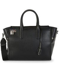 Zadig & Voltaire Muse Leather Shoulder Bag - Black