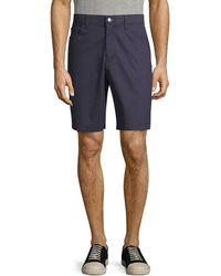 Calvin Klein Stretch-cotton Shorts - Blue