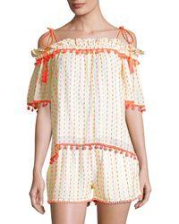 Tessora Women's Dana Off-the-shoulder Top - Size Xs - Multicolour