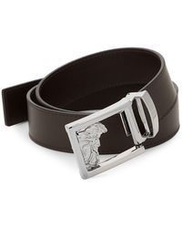 Versace - Versace Leather Belt - Lyst