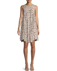 Free People Daisy Sleeveless Mini Dress - Brown