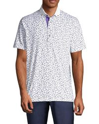 Greyson Men's Lord Of The Flies Polo Shirt - Arctic - Size L - White