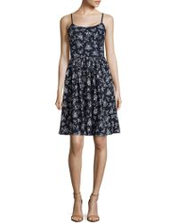 Maggy London - Cotton Floral Petite Dress - Lyst