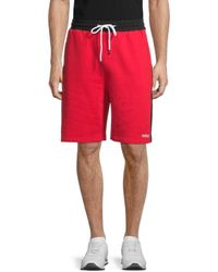 Wesc Marty Colorblock Shorts - Red
