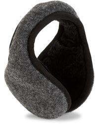 UGG Shearling-lined Wool-blend Earmuffs - Grey