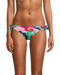 Love Moschino Fantasia Logo Camo Bikini Bottom - Multicolour